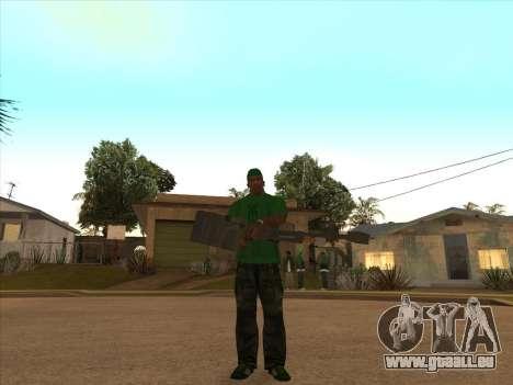 KORD pour GTA San Andreas quatrième écran
