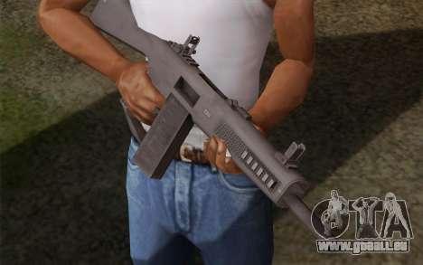 L'AA-12 shotgun pour GTA San Andreas deuxième écran