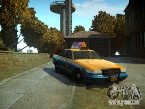 GTA V Taxi pour GTA 4