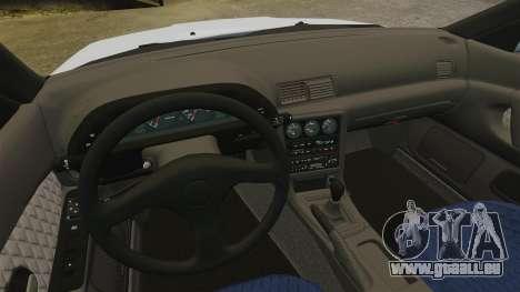 Nissan Skyline GT-R (R32) für GTA 4 Innenansicht