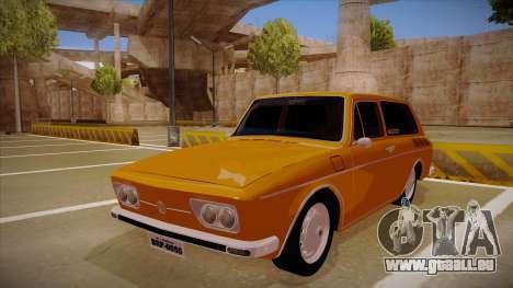 VW Variant 1972 pour GTA San Andreas