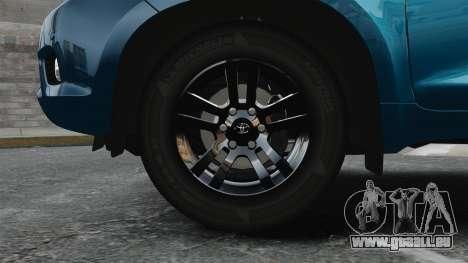 Toyota Land Cruiser Prado 150 pour GTA 4 Vue arrière