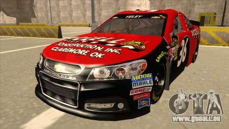 Chevrolet SS NASCAR No. 36 Accell für GTA San Andreas