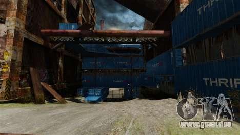 Une base défensive pour GTA 4 secondes d'écran