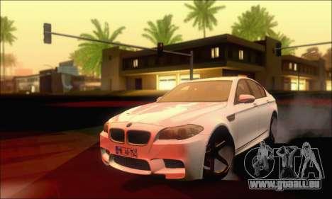 BMW M5 Vossen pour GTA San Andreas