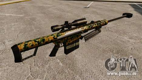 Das Barrett M82 Sniper Gewehr v13 für GTA 4 Sekunden Bildschirm