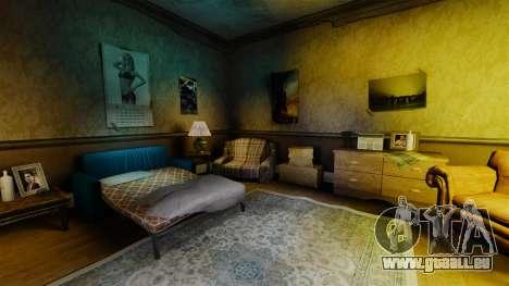 Nouvelles textures dans le premier appartement d pour GTA 4
