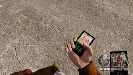 Thèmes pour les barres de sucrerie de téléphone pour GTA 4 quatrième écran