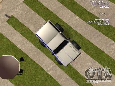 Rancher Monster pour GTA San Andreas vue de droite