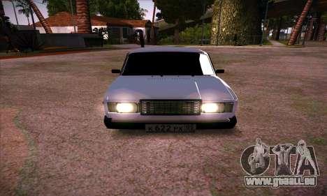 VAZ 2107 (05) pour GTA San Andreas
