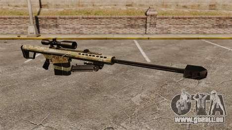 Le Barrett M82 sniper rifle v14 pour GTA 4