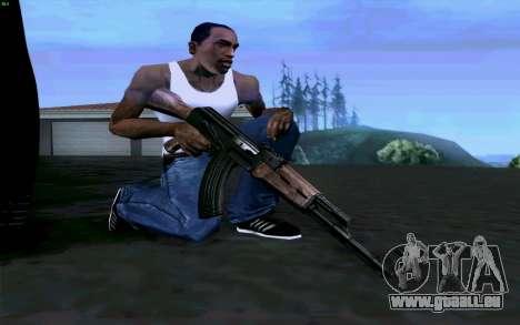 AK-47 für GTA San Andreas dritten Screenshot
