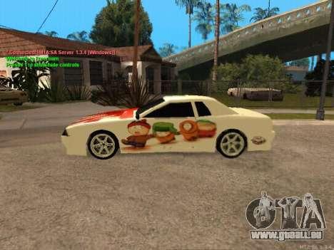 New Elegy für GTA San Andreas Innenansicht