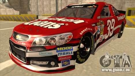 Chevrolet SS NASCAR No. 39 Quicken Loans pour GTA San Andreas