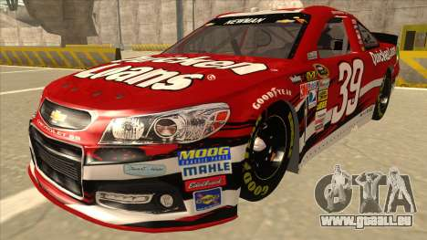 Chevrolet SS NASCAR No. 39 Quicken Loans für GTA San Andreas
