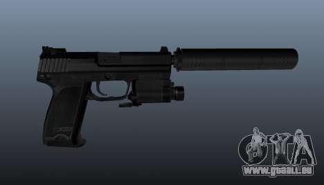 Pistolet HK USP 45 pour GTA 4 troisième écran