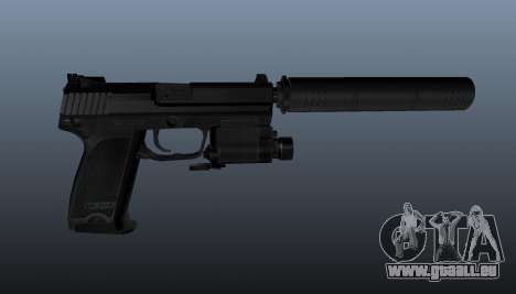 HK USP 45 Pistole für GTA 4 dritte Screenshot