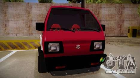 Suzuki Carry Drift Style pour GTA San Andreas laissé vue