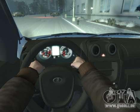 Lada Granta Hatch - VAZ 2191 für GTA 4 Rückansicht