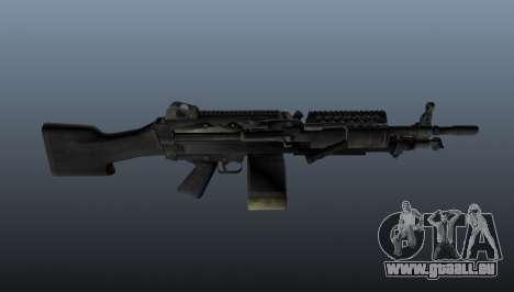 M249 light machine gun pour GTA 4 troisième écran