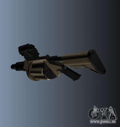 Grenade Launcher MGL-MK1 pour GTA 4 secondes d'écran
