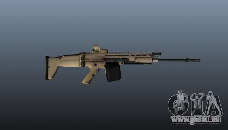 FN SCAR-H-Maschinengewehr LMG für GTA 4 dritte Screenshot
