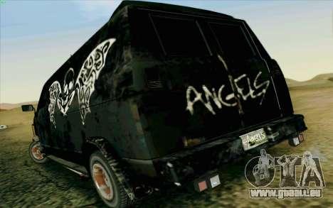 Gang Burrito pour GTA San Andreas sur la vue arrière gauche