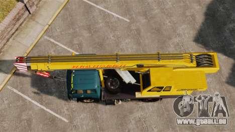 MAZ KS3577-4-1 Ivanovets pour GTA 4 est un droit