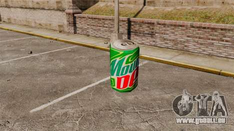 Nouvelles machines distributrices de soude pour GTA 4 troisième écran