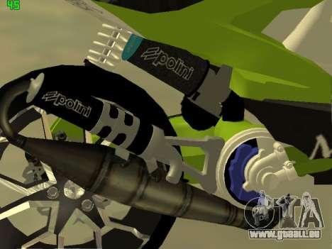 Yamaha Aerox für GTA San Andreas rechten Ansicht