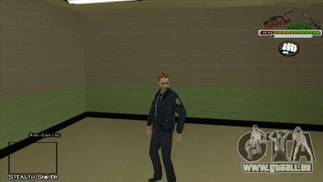 Peaux SAPD Pak pour GTA San Andreas septième écran