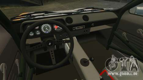 Ford Escort Mk1 Rust Rod für GTA 4 Rückansicht