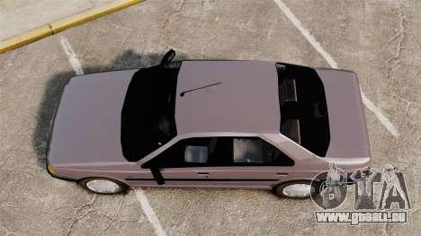 Peugeot 405 GLX für GTA 4 rechte Ansicht