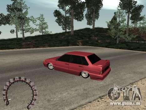 BPAN VAZ 2115 pour GTA San Andreas vue de droite