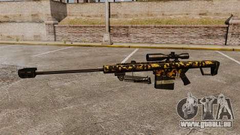 Das Barrett M82 Sniper Gewehr v11 für GTA 4 dritte Screenshot