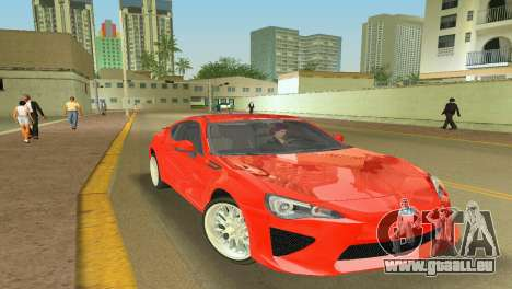 Subaru BRZ Type 2 für GTA Vice City