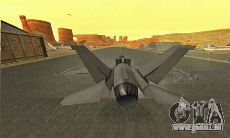 Hydra GTA V pour GTA San Andreas vue de droite