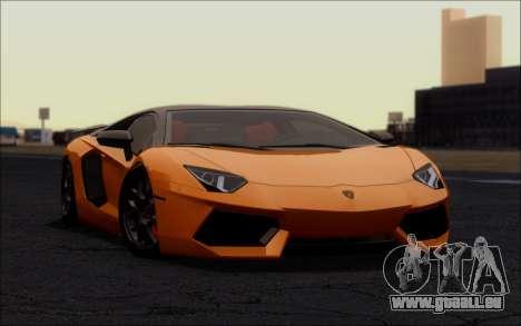 Lamborghini Aventador LP760-2 EU Plate für GTA San Andreas