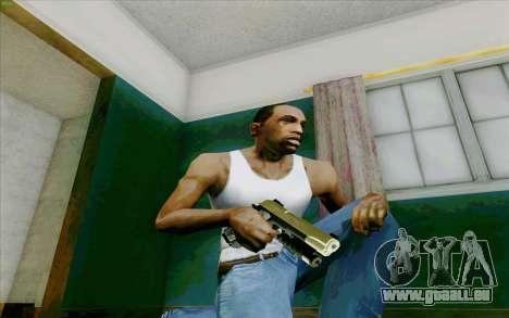 M1911 pour GTA San Andreas troisième écran