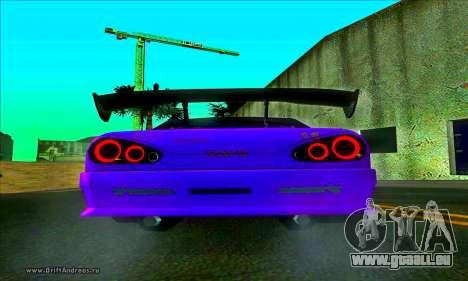 Elegy DC v2 für GTA San Andreas zurück linke Ansicht