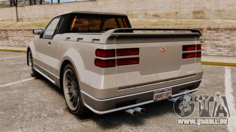 Nouveau concurrent pour GTA 4 Vue arrière de la gauche
