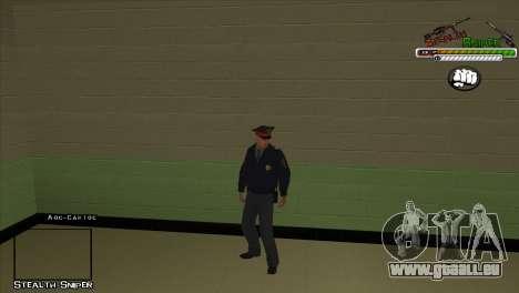 Peaux SAPD Pak pour GTA San Andreas troisième écran