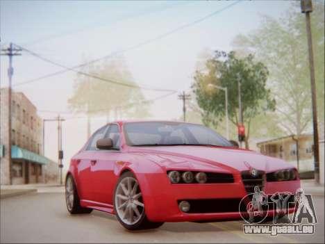 Alfa Romeo 159 Sedan pour GTA San Andreas