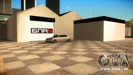 Le garage de Doherty BPAN v1.1 pour GTA San Andreas troisième écran