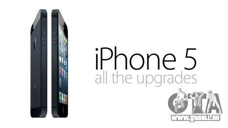 GTA V to SA: Iphone 5 pour GTA San Andreas