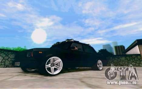 VAZ 2107 Riva pour GTA San Andreas laissé vue
