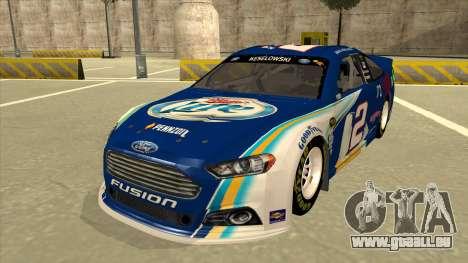 Ford Fusion NASCAR No. 2 Miller Lite pour GTA San Andreas