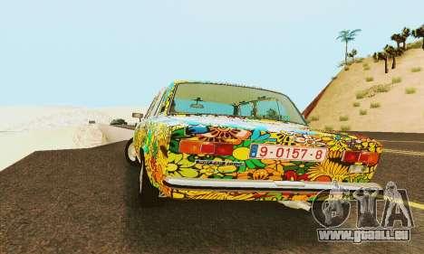 VAZ 21011 Hippie pour GTA San Andreas vue intérieure