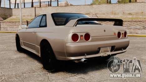 Nissan Skyline GT-R (R32) pour GTA 4 Vue arrière de la gauche