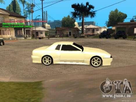 New Elegy für GTA San Andreas zurück linke Ansicht